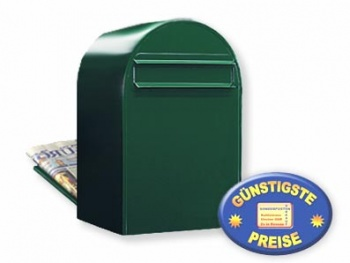 Zaunbriefkasten schwarzgrün Cenator BF 378