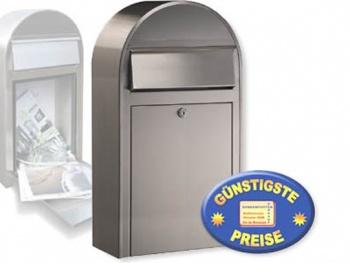 Briefkasten aus Edelstahl Cenator BF 399