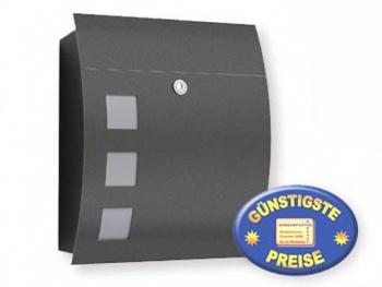 Briefkasten anthrazit Cenator CM 546