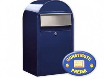 Großraum-Briefkasten blau Cenator BF 401