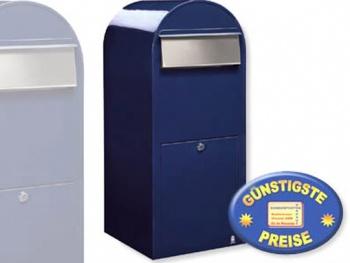 Großraum-Briefkasten XXL blau Cenator BF 423