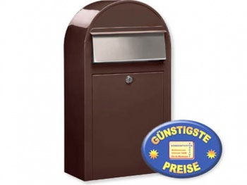 Briefkasten braun Cenator BF 394