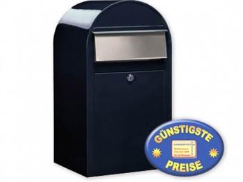 Großraum-Briefkasten schwarzblau Cenator BF 404