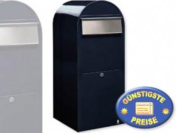 Großraum-Briefkasten XXL schwarzblau Cenator BF 426