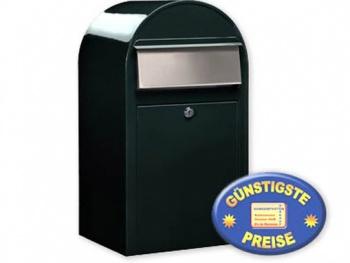 Großraum-Briefkasten schwarzgrün Cenator BF 403