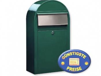 Briefkasten grün Cenator BF 395