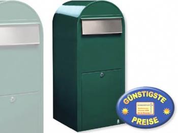 Großraum-Briefkasten XXL grün Cenator BF 428