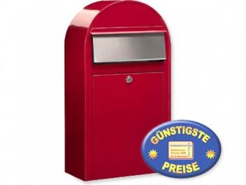 Briefkasten rot Cenator BF 391