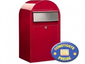 Großraum-Briefkasten rot Cenator BF 402