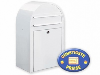 Briefkasten weiß Cenator BF 364