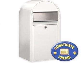Großraum-Briefkasten weiß Cenator BF 400