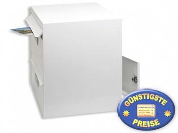 Anlagen-Briefkasten 2 Fächer weiß Cenator BW 190