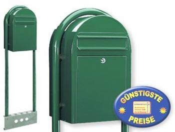 Briefkasten freistehend grün Cenator BF 460
