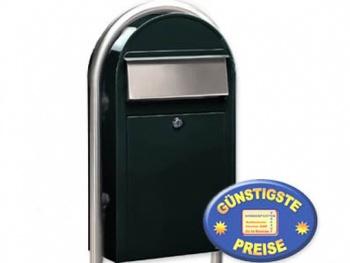 Standbriefkasten schwarzgrün Cenator BF 482