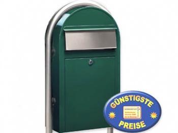 Standbriefkasten grün Cenator BF 485