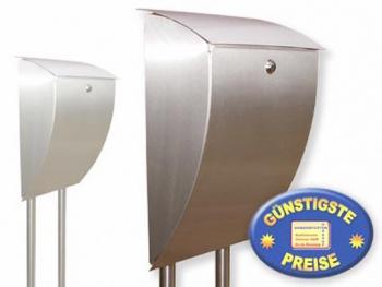 Briefkasten mit Ständer Edelstahl Cenator BW 86