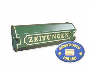 Zeitungsbox grün Cenator BW 141