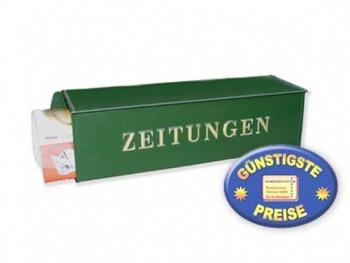 Zeitungsbox grün Cenator BW 197