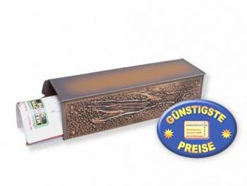 Zeitungsbox kupfer Relief Cenator BW 198