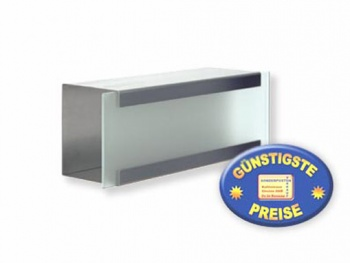 Luxus-Zeitungsbox Edelstahl Cenator KE 357