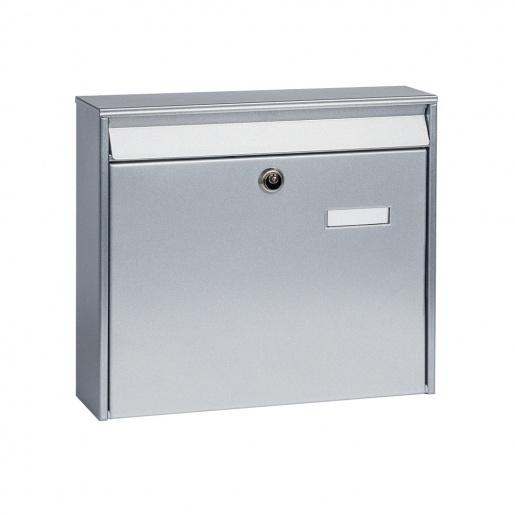 Anlagen-Briefkasten Aluis silber von Cenator