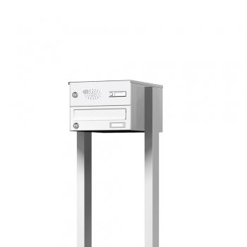 Briefkasten freistehend mit Funktionskasten Cenator KN-FS-11-244-H