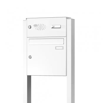 Briefkasten freistehend mit Funktionskasten Cenator KN-FS-11-244