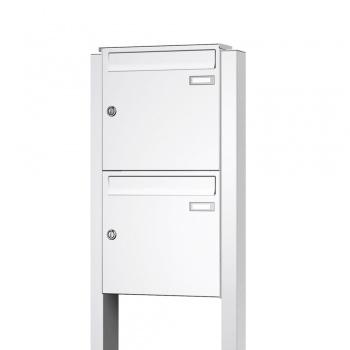 Zweier-Briefkastenanlage freistehend Cenator KN-FS-20-244-A