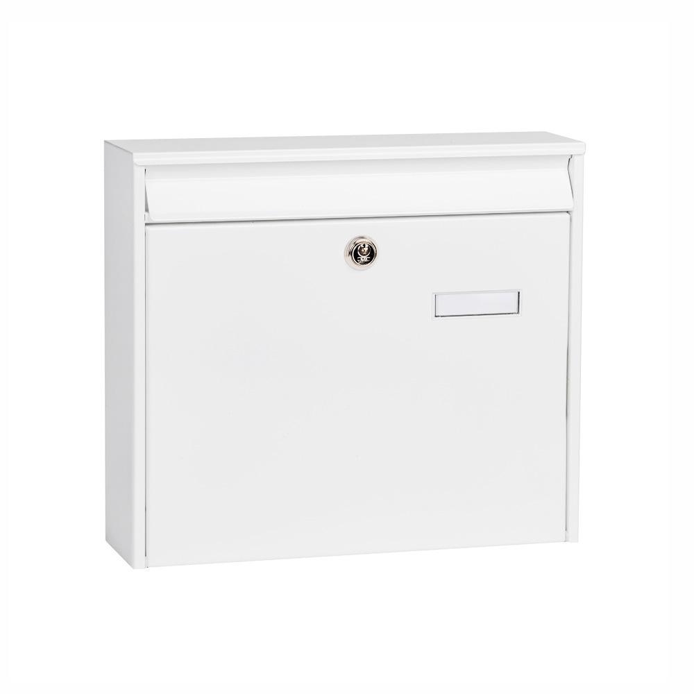 Anlagen-Briefkasten Aluis weiß von Cenator