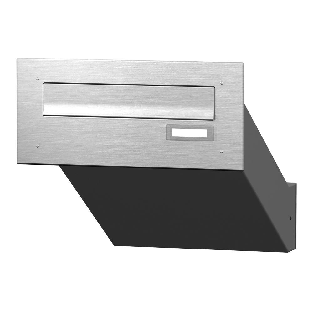 cenator mauerdurchwurf briefkasten edelstahl cenator kn md 10 or e. Black Bedroom Furniture Sets. Home Design Ideas