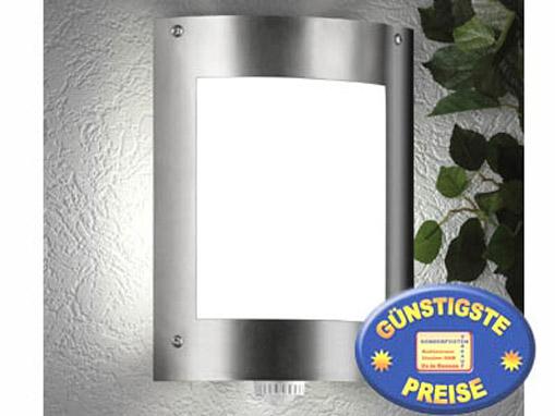 Außenleuchte für Wand Edelstahl mit Bewegungsmelder Cenator CM 29