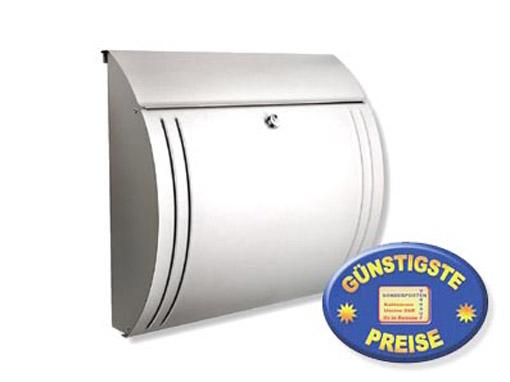 Edelstahl Briefkasten klein Cenator BW 122