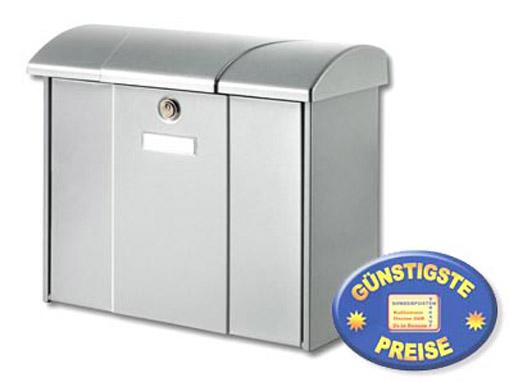Briefkasten silber Cenator BW 161