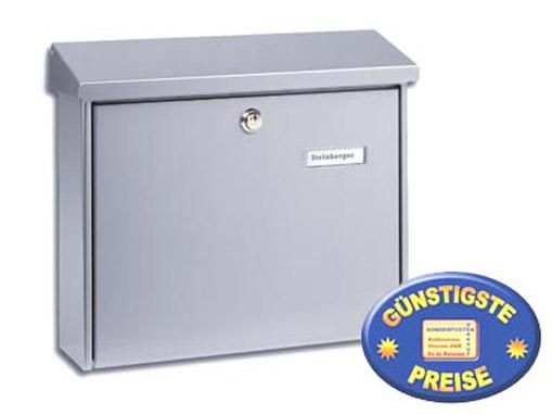 Briefkasten silber Cenator BW 175