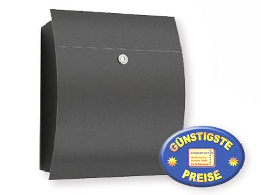Briefkasten anthrazit Cenator CM 550