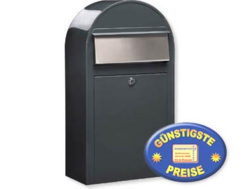 Briefkasten grau Cenator BF 398